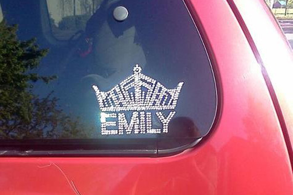 Crown Decal