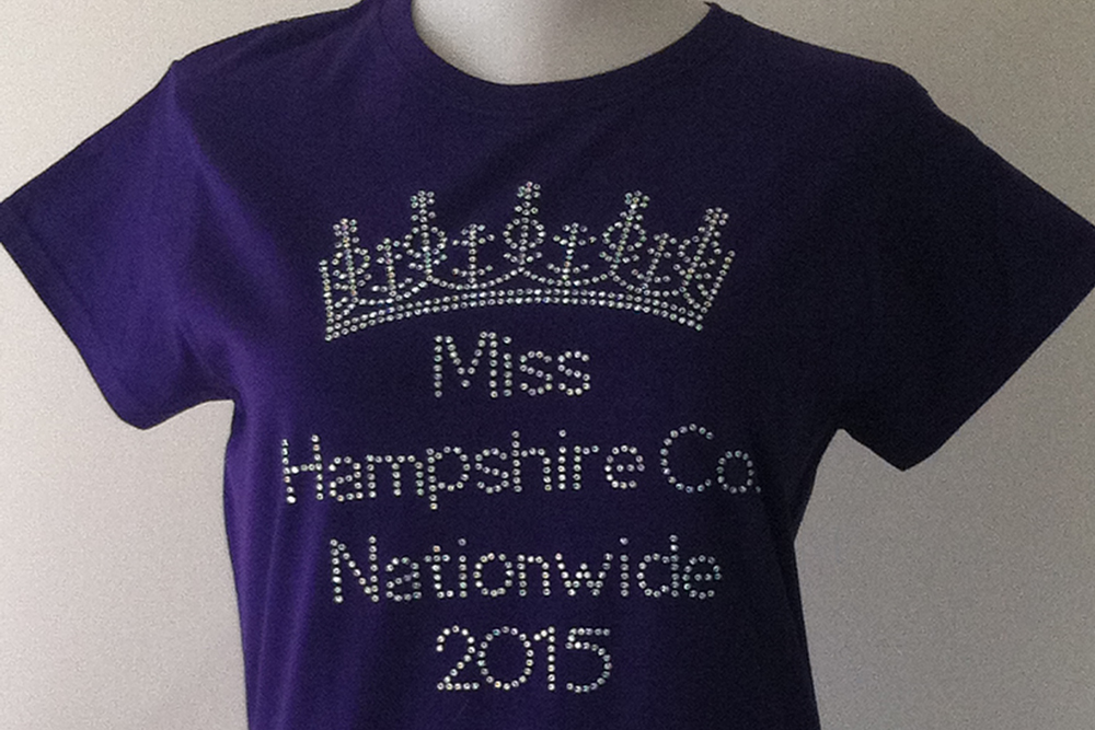 Custom Crown Titleholder T-Shirt